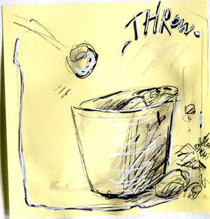 Inktober 2020 - Day 09 : Throw