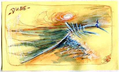 Inktober 2020 - Day 13 : Dune