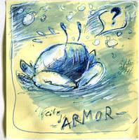 Inktober2020 - Day 14 : Armor