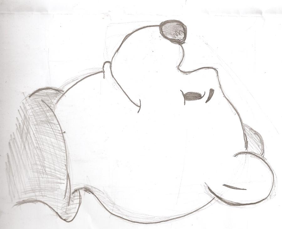 Winnie the pooh by Sketchstar-mids-sis