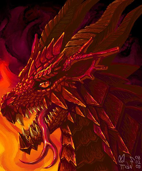 Red Dragon by Mootdam