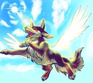 Flying Mootie