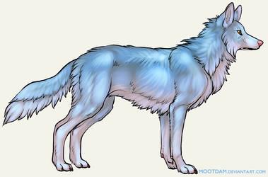 Blue Wolf by Mootdam