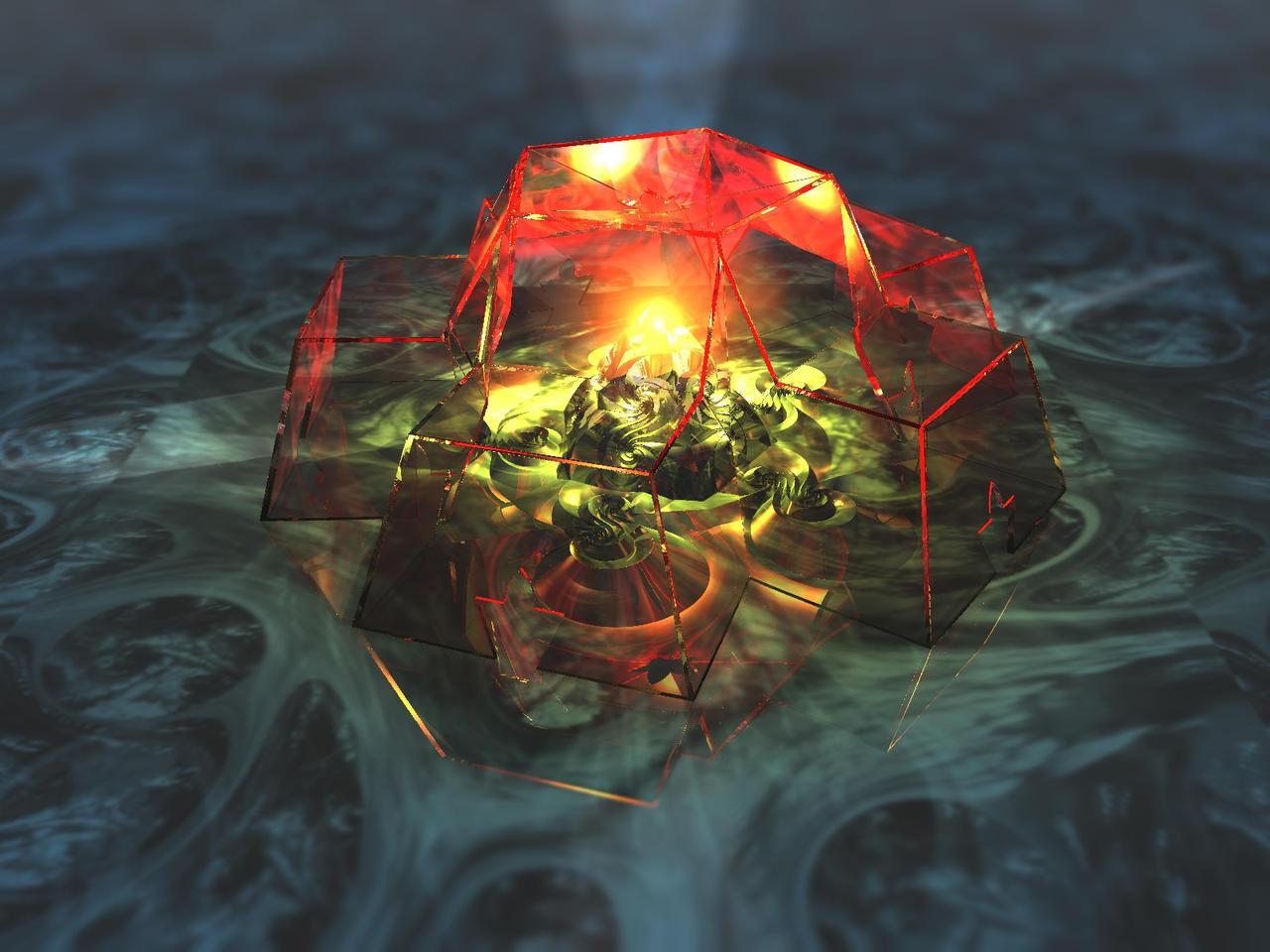Logspiral shrine by kronpano