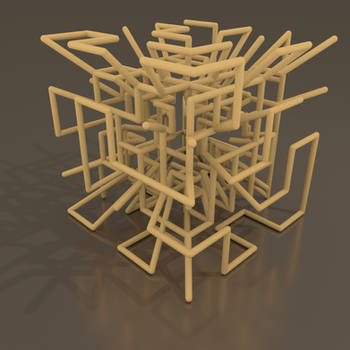 Maze from mesh 2 by kronpano