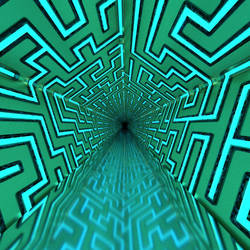 Corridor  maze light system by kronpano