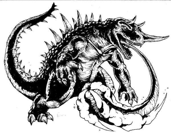 Barugon Ink by KillustrationStudios