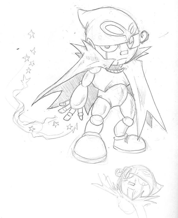 Geno Sketch From Mario RPG by KillustrationStudios