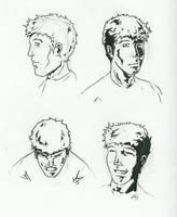 Quint Faces by KillustrationStudios