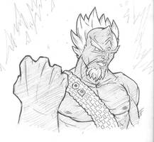 Supah Saiyan WORF by KillustrationStudios