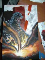 Another Godzilla Prev by KillustrationStudios