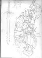 Armok the Orc by KillustrationStudios