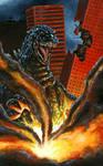Gfest '09 Godzilla Painting