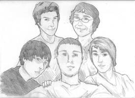 Sketch : SuperSaiyan4Godzilla by KillustrationStudios