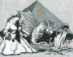 Monster Trio Commish