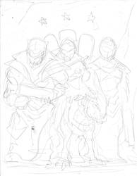 Legionnaires Sketch by KillustrationStudios