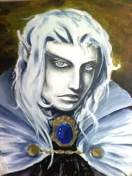 WIP Character Portrait by KillustrationStudios