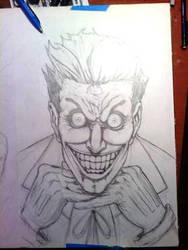 Joker Pencils - WIP by KillustrationStudios