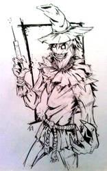 FCBD Comission - Scarecrow by KillustrationStudios