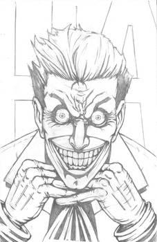 Finished Joker Pencils