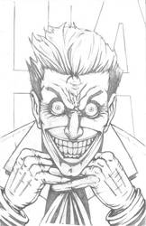 Finished Joker Pencils by KillustrationStudios