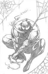 Finished Venom Pencils by KillustrationStudios