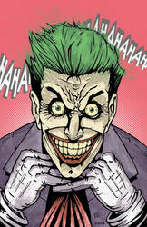 Joker Portrait by KillustrationStudios