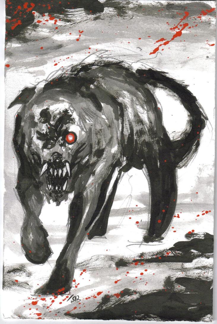 Black Shuck by KillustrationStudios