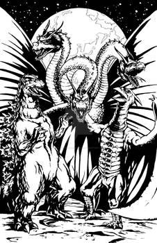 Monster Zero BW