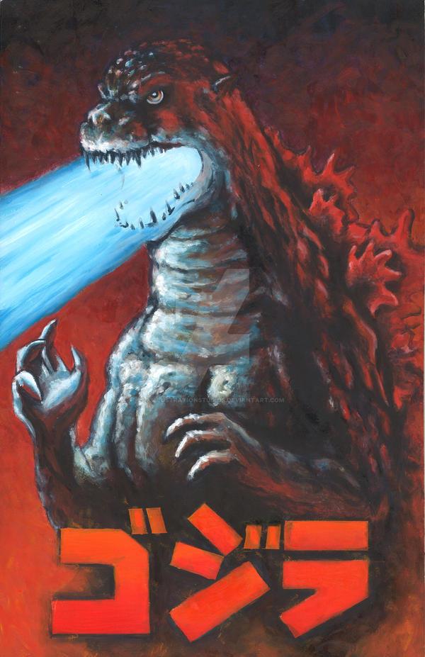 Godzilla Atomic Breath by KillustrationStudios on DeviantArt