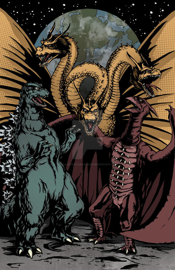 Monster Zero Colors by KillustrationStudios