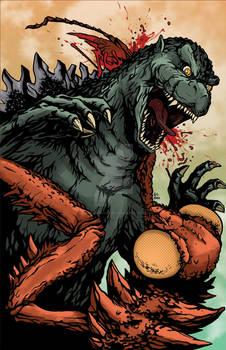 Godzilla vs. Kamacuras Colors