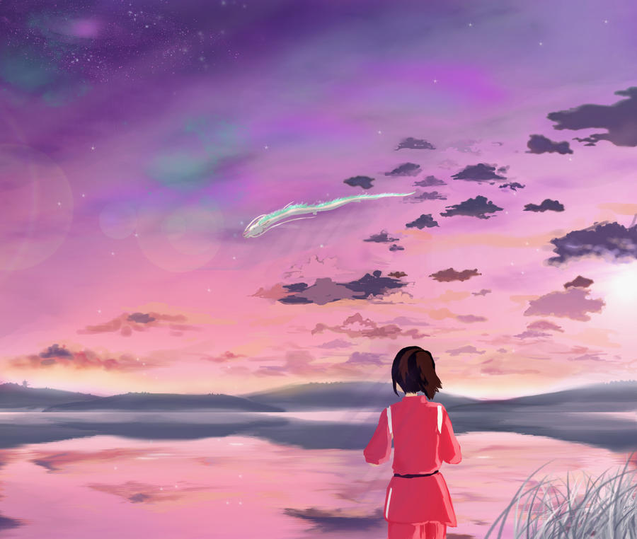 Spirited Away by alexandresama