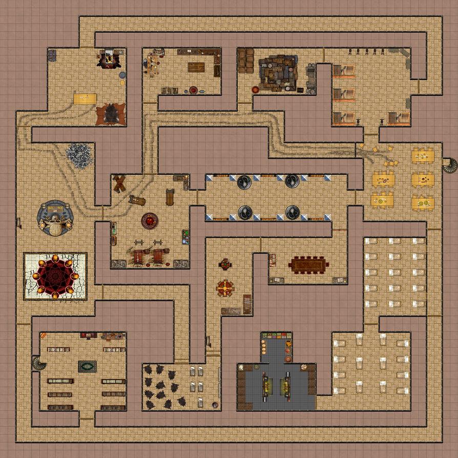 Ziggurat of Ydersius 2/3 by Kairuek