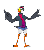 Jacques the Puffin boy