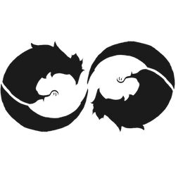 Dueling Cockatrice emblem