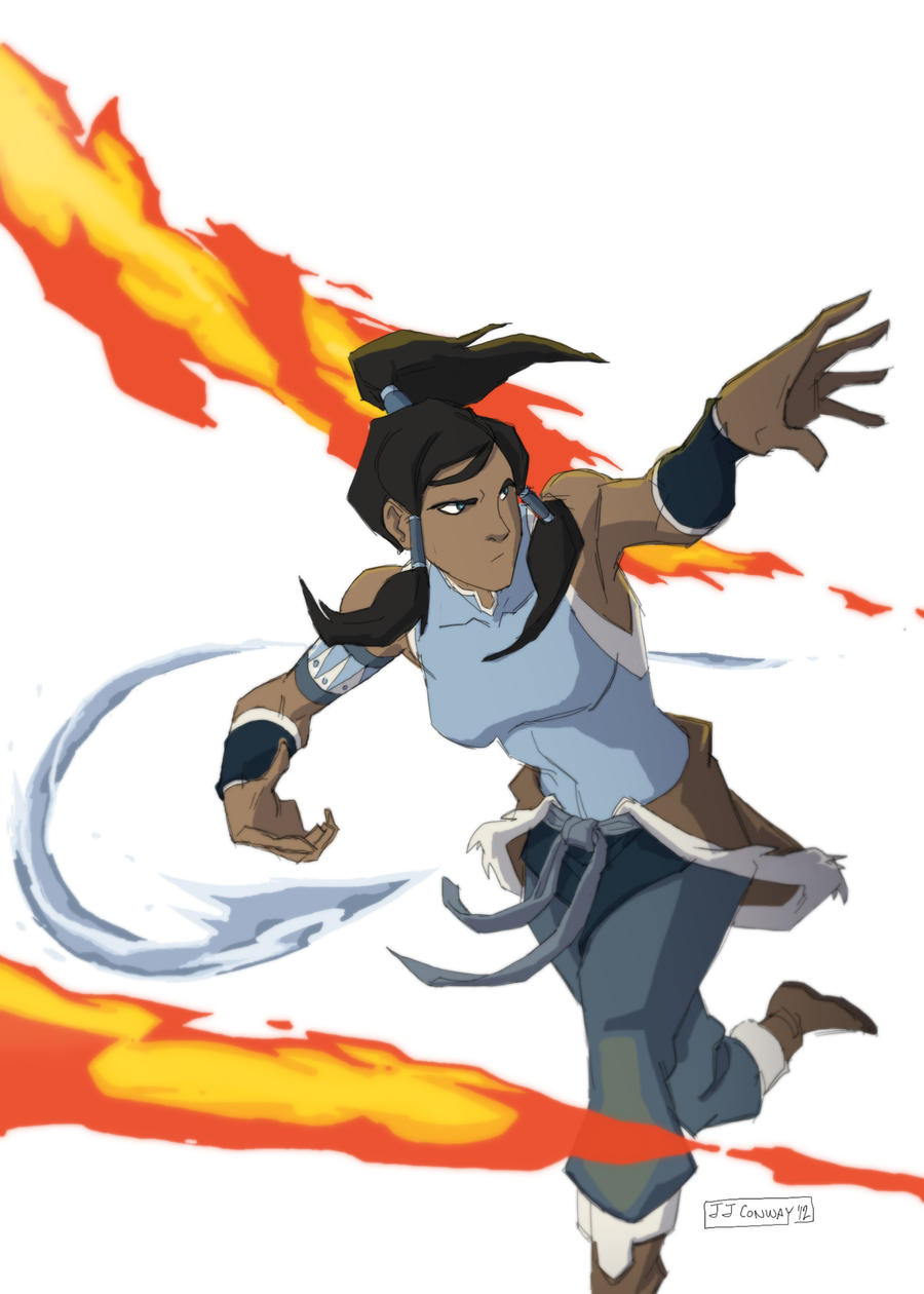 Korra the Waterbender by JJConway