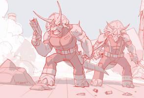 Triceratons!