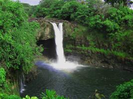 Rainbow Falls, Kona by Seanna69