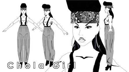 Chola Girl--Finished by mystic-eye-art9871