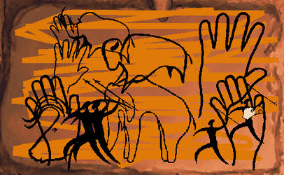 MSB Cave Painting by mystic-eye-art9871
