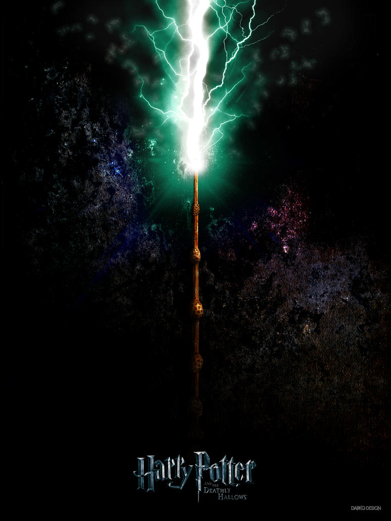 The elder wand by darkodesign on deviantart for Deathly hallows elder wand
