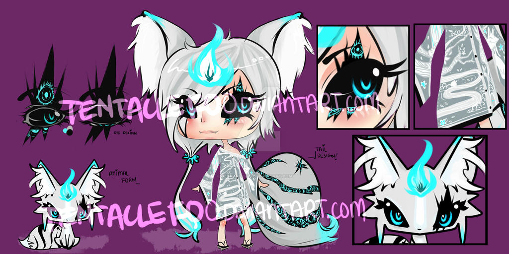 Adoptable Spirit Fox {OPEN UNTIL APRIL 25TH} by TentacleF00