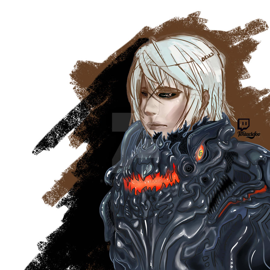 Blade and Soul fanart Velhart's Avalon character by TentacleF00