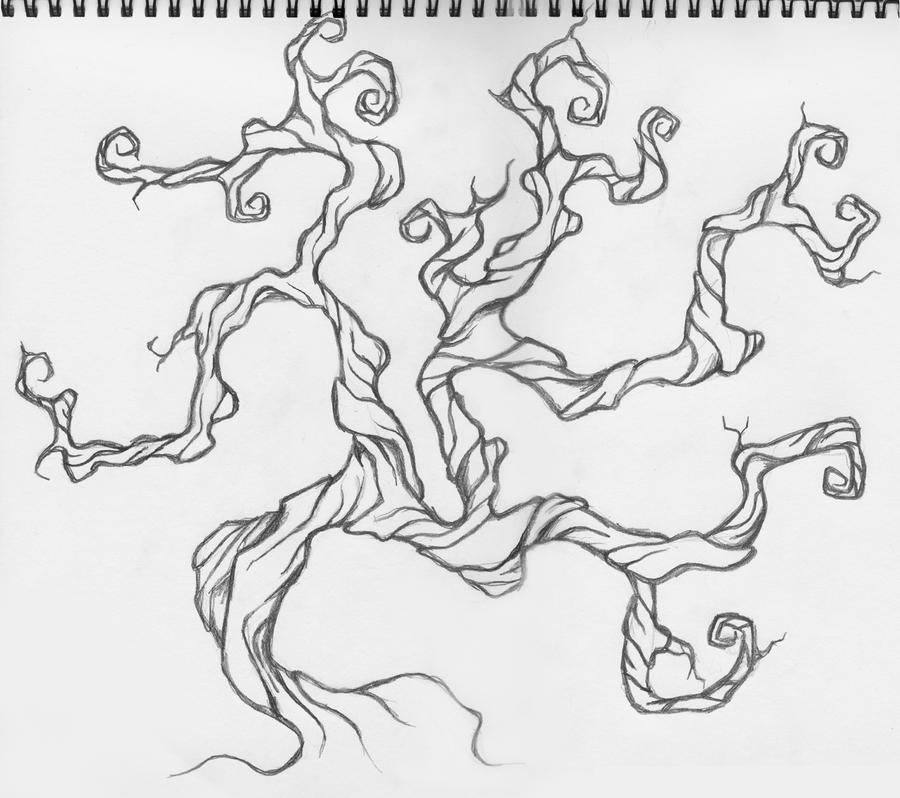 twisted tree design by traciemacvean on deviantart