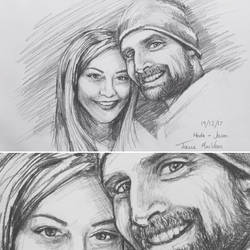 Portrait - Hoda and Jason