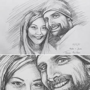 Portrait - Hoda and Jason