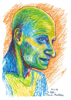 Portrait - Pete in pencil.