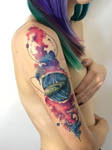 Cosmic Tattoo. by TracieMacVean