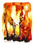 Bushfire Season. by TracieMacVean